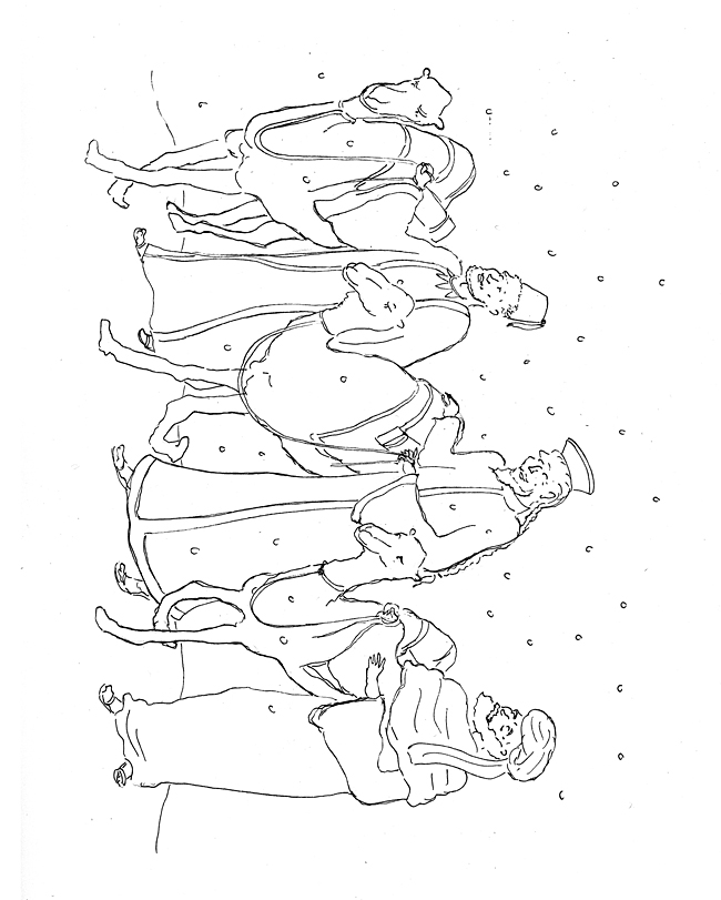 epiphany coloring pages free - photo#20