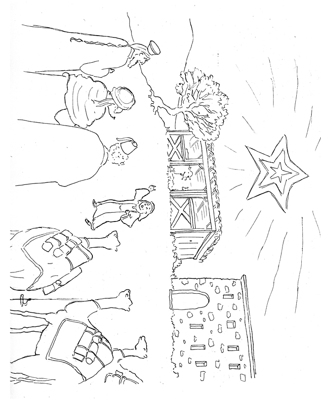 epiphany coloring pages free - photo#14